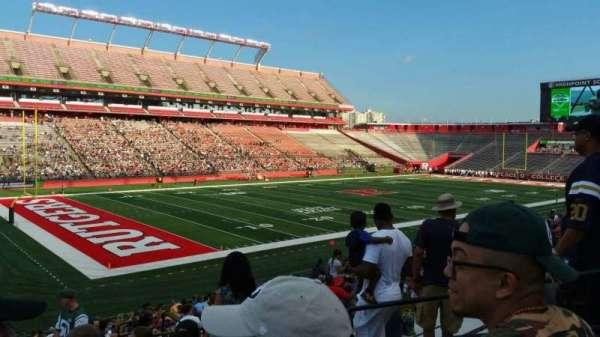 SHI Stadium, secção: 110, fila: 25, lugar: 6