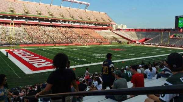 SHI Stadium, secção: 110, fila: 25, lugar: 1