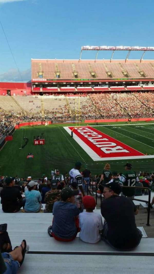 SHI Stadium, secção: 110, fila: 32, lugar: 4