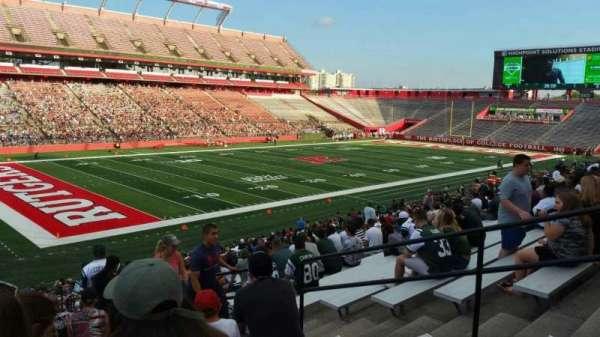SHI Stadium, secção: 110, fila: 32, lugar: 7