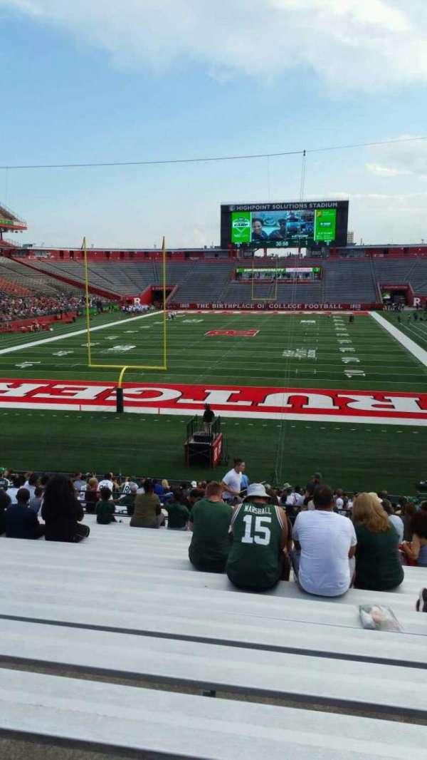 SHI Stadium, secção: 115, fila: 27, lugar: 8
