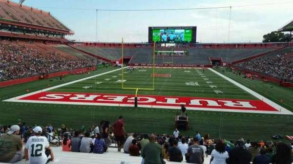 SHI Stadium, secção: 115, fila: 27, lugar: 22