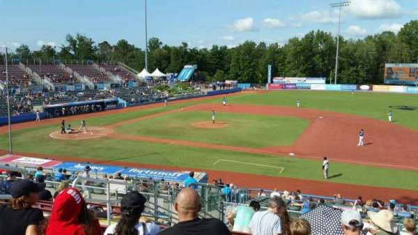Dutchess Stadium, secção: 302, fila: L, lugar: 6