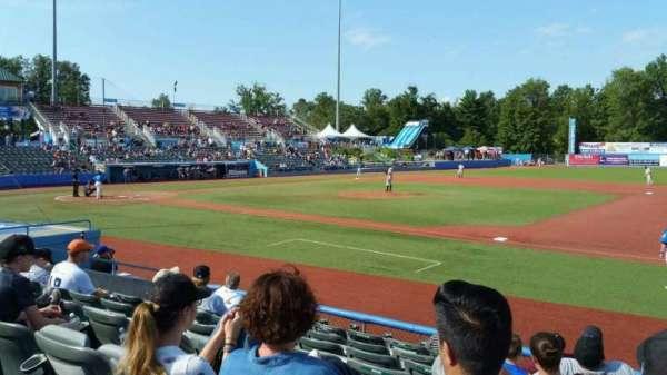 Dutchess Stadium, secção: 101.5, fila: H, lugar: 12