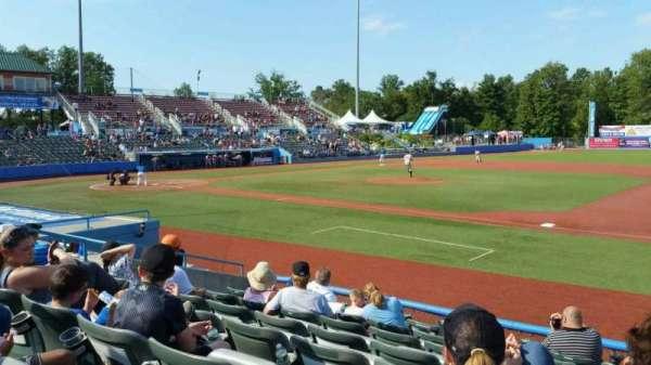 Dutchess Stadium, secção: 101.5, fila: H, lugar: 10