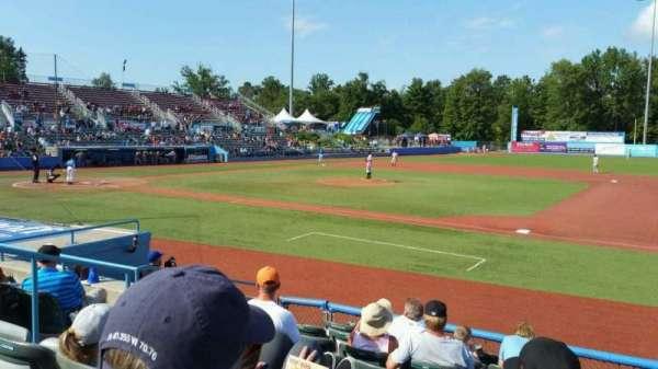 Dutchess Stadium, secção: 101.5, fila: H, lugar: 6