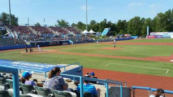 Dutchess Stadium, secção: 101.5, fila: H, lugar: 1