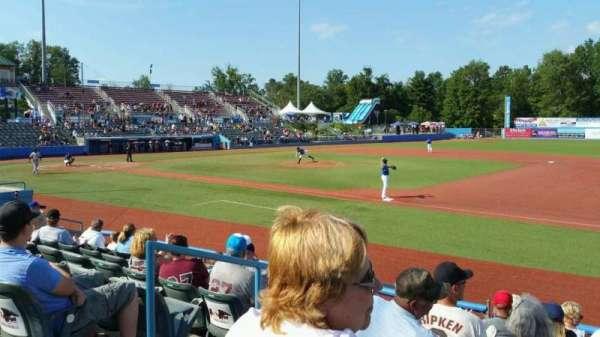 Dutchess Stadium, secção: 101A, fila: H, lugar: 15
