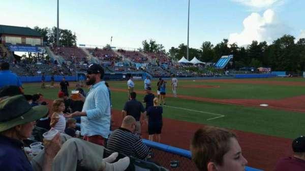 Dutchess Stadium, secção: 101.5, fila: D, lugar: 11