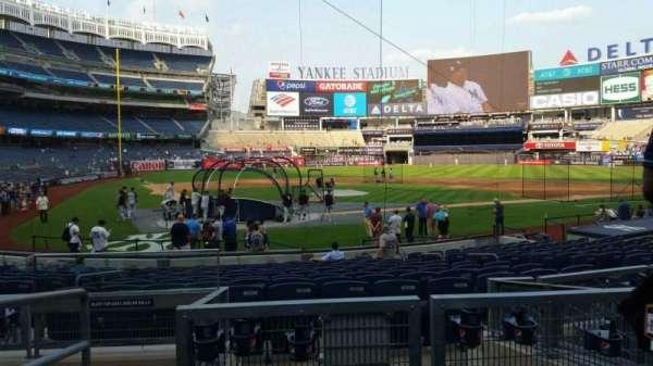 Yankee Stadium, secção: 115, fila: 5, lugar: 11