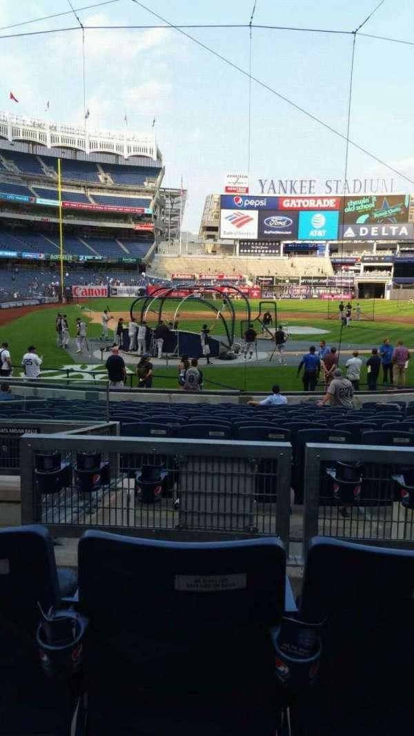 Yankee Stadium, secção: 118, fila: 5, lugar: 10