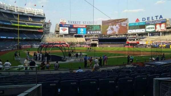Yankee Stadium, secção: 118, fila: 3, lugar: 9
