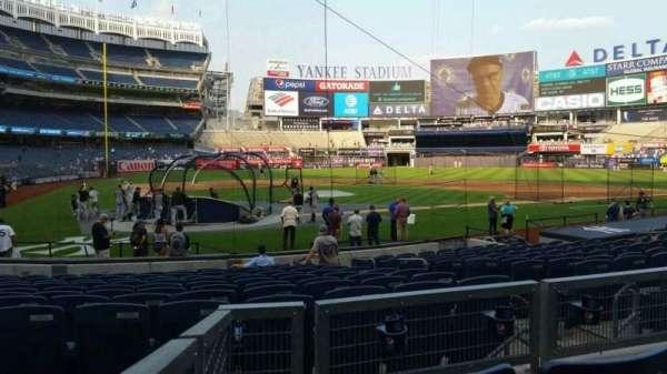 Yankee Stadium, secção: 118, fila: 3, lugar: 5