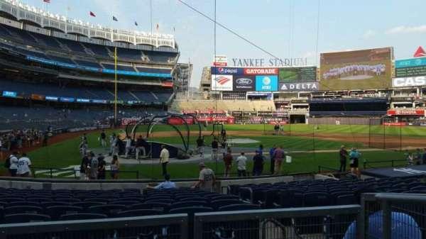 Yankee Stadium, secção: 118, fila: 3, lugar: 2