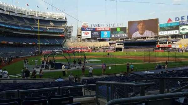 Yankee Stadium, secção: 118, fila: 6, lugar: 4