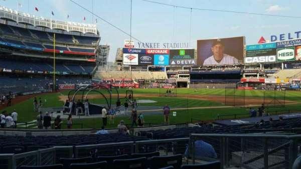 Yankee Stadium, secção: 118, fila: 6, lugar: 6