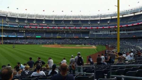 Yankee Stadium, secção: 133, fila: 12, lugar: 5