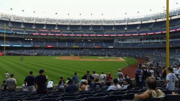 Yankee Stadium, secção: 133, fila: 12, lugar: 10