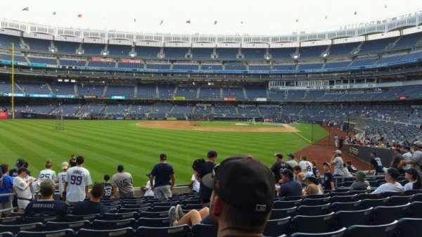 Yankee Stadium, secção: 133, fila: 12, lugar: 15