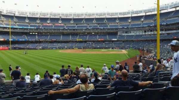 Yankee Stadium, secção: 133, fila: 13, lugar: 7