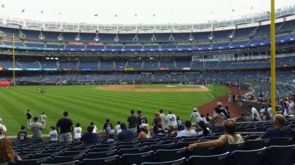 Yankee Stadium, secção: 133, fila: 13, lugar: 10