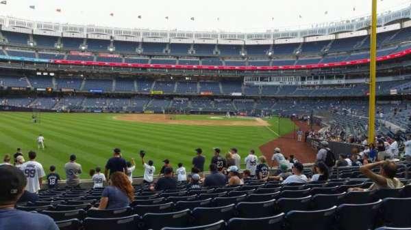 Yankee Stadium, secção: 133, fila: 13, lugar: 13