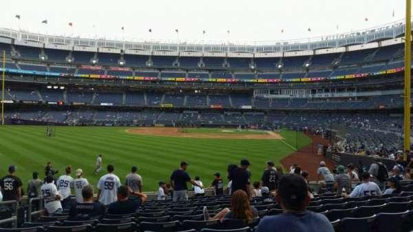 Yankee Stadium, secção: 133, fila: 13, lugar: 16