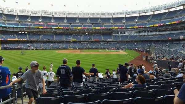 Yankee Stadium, secção: 133, fila: 13, lugar: 18