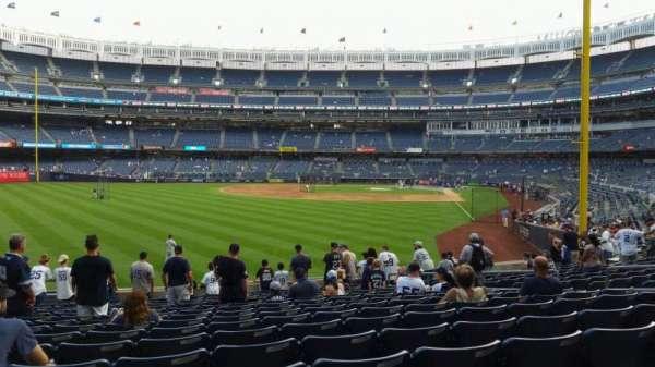 Yankee Stadium, secção: 133, fila: 15, lugar: 12