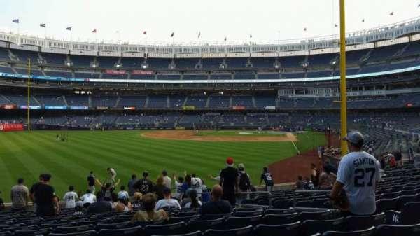Yankee Stadium, secção: 133, fila: 15, lugar: 7