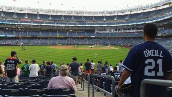 Yankee Stadium, secção: 135, fila: 14, lugar: 1