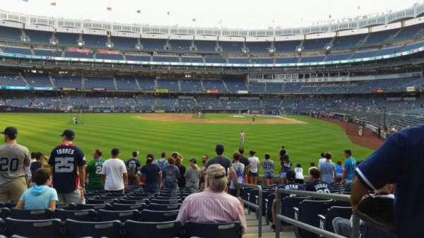 Yankee Stadium, secção: 135, fila: 14, lugar: 2