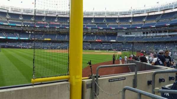 Yankee Stadium, secção: 132, fila: 3, lugar: 4