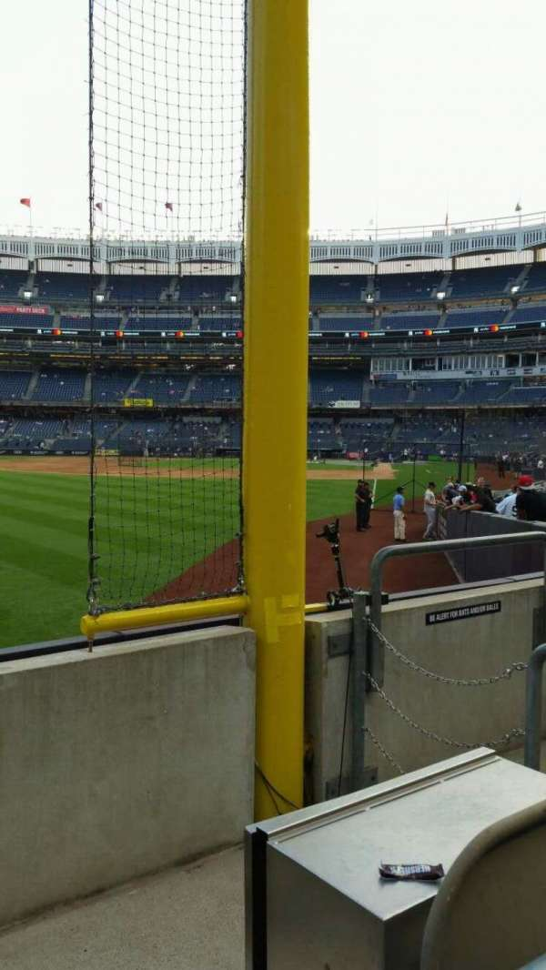 Yankee Stadium, secção: 132, fila: 3, lugar: 5