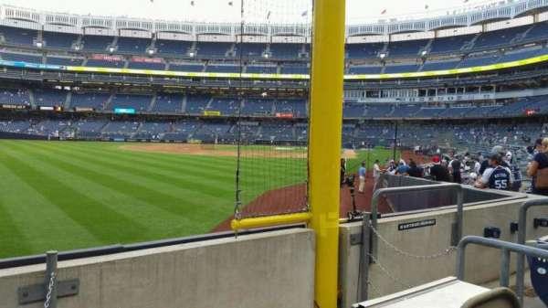 Yankee Stadium, secção: 132, fila: 3, lugar: 6