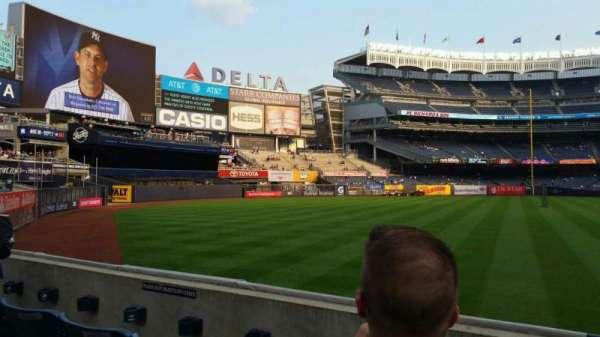 Yankee Stadium, secção: 132, fila: 3, lugar: 7