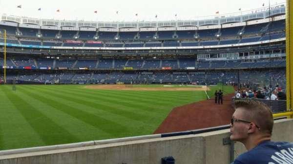 Yankee Stadium, secção: 132, fila: 3, lugar: 10