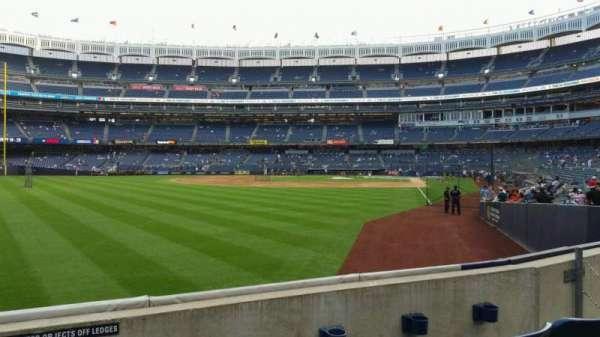 Yankee Stadium, secção: 132, fila: 3, lugar: 12