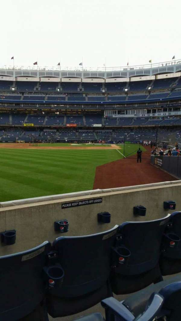 Yankee Stadium, secção: 132, fila: 3, lugar: 15