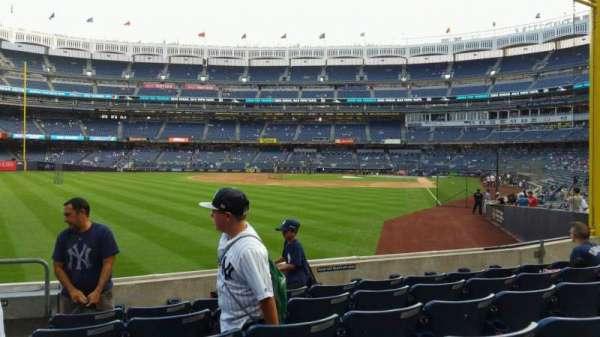 Yankee Stadium, secção: 132, fila: 6, lugar: 18