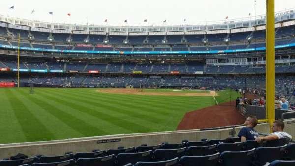 Yankee Stadium, secção: 132, fila: 6, lugar: 15