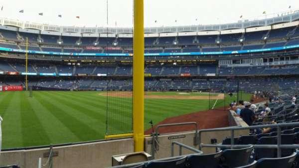 Yankee Stadium, secção: 132, fila: 6, lugar: 6