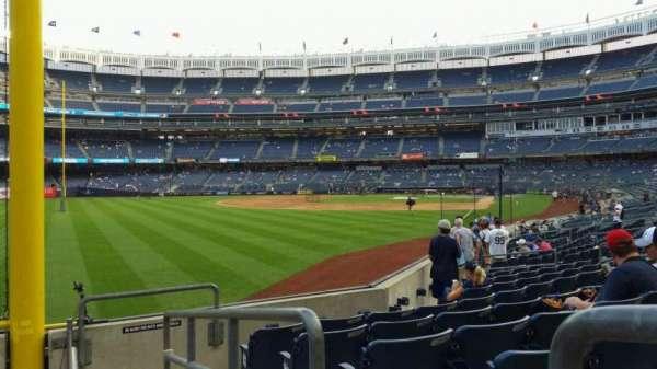 Yankee Stadium, secção: 132, fila: 6, lugar: 1