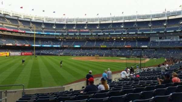Yankee Stadium, secção: 131, fila: 13, lugar: 18