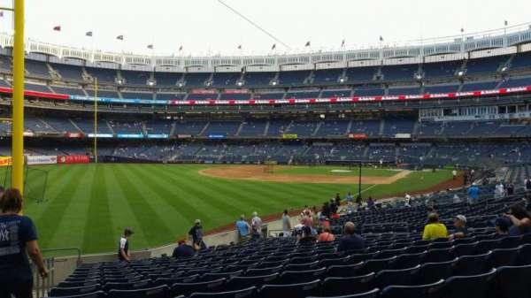 Yankee Stadium, secção: 131, fila: 19, lugar: 21