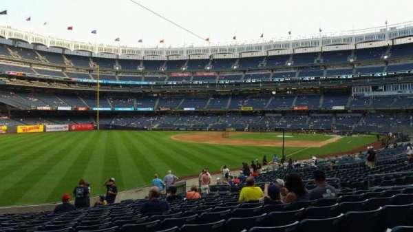 Yankee Stadium, secção: 131, fila: 19, lugar: 15