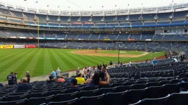 Yankee Stadium, secção: 131, fila: 19, lugar: 12
