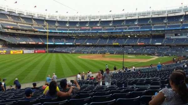 Yankee Stadium, secção: 131, fila: 19, lugar: 9