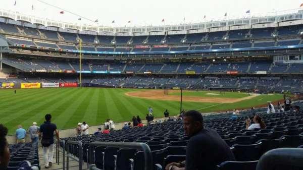 Yankee Stadium, secção: 131, fila: 19, lugar: 1