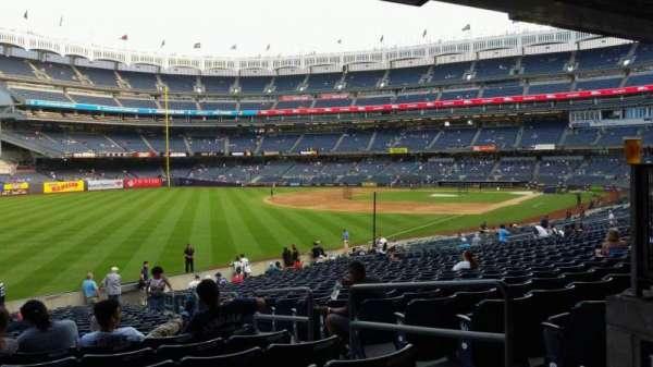 Yankee Stadium, secção: 131, fila: 23, lugar: 4